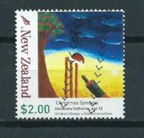 2007 New Zealand $2.00 Christmas,kerst,noël,weihnachten Used/gebruikt/oblitere - Nieuw-Zeeland