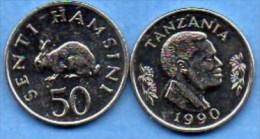 TANZANIA / TANZANIE   50 SENTI 1990  UNC/NEUVE - Tanzanie