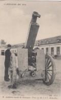 MILITARIA - Artillerie Lourde - Campagne De 1914 - Pièce De 155 C.T.T. - Ausrüstung