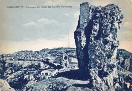 CALTANISSETTA : PANORAMA DAI RUDERI DEL CASTELLO DI PIETRAROSSA - Caltanissetta