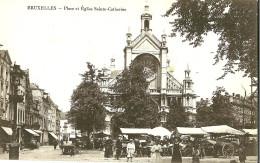 Autres. Place Et église Sainte Catherine, Le Marché Forain. - Andere