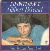 45T GILBERT BECAUD - Discos De Vinilo