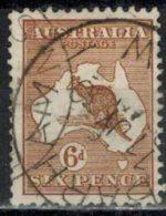 AUSTRALIEN 1929 - MiNr: 82 Used - 1913-48 Kangaroos