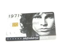 Jim Morrison Telefonkarte Phonecard Hungary - Personaggi