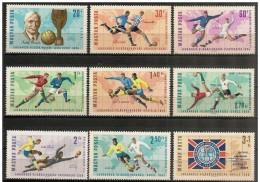 Ungheria/Hungary/Hongrie: Calciatori In Azione, Soccer Players In Action, Joueurs De Football De L'action - 1966 – Inglaterra