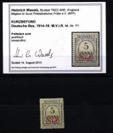 Militärverwaltung In Rumänien,P1,xx,Befund,Mi.170,- - Besetzungen 1914-18