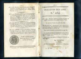 1929-bulletin Des Lois-ref-35254    N° 264 Conseil à Turin     Etc.. 12 Pages 1810-série-4-tome-12 - Gesetze & Erlasse