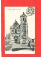 80 BERTAUCOURT Les DAMES Cpa Façade De L' Eglise M H 1095 F A 2177 - France