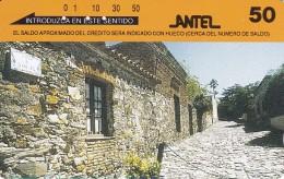 Nº 34 TARJETA DE URUGUAY DE ANTEL DE COLONIA DEL SACRAMENTO - Uruguay