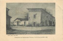01-229   CPA  Presbytère Du Bienheureux Vianney Curé D' ARS De 1818 à 1859  Belle Carte 2 SCANS - Ars-sur-Formans
