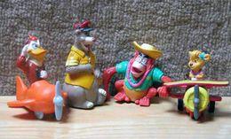 Lot 4 Figurines Disney McDonald's : Super Baloo - McDonald's