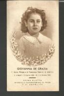 SA100---  SANTINO,  GIOVANNA DE GRAZIA,  1950, NAPOLI, - Santini