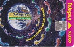 TARJETA DE COLOMBIA DE TELEPSA COMUNICA CON TODO EL MUNDO - Astronomy