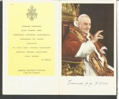 CAL82/83--- CALENDARIETTO, DI PAPA GIOVANNI,  1960, - Calendari
