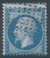 Lot N°31373  Variété/n°22, Oblit Roulette De Petits Points, Piquage - 1862 Napoleone III