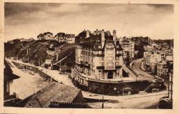 CPA GRANVILLE - LE NORMANDY HOTEL ET LES ROUTES DE COUTANCES - Granville