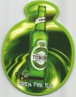TUBORG Beer Coaster From Macedonia - Sous-bocks