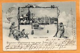 Basel Wettenstein 1906 Postcard - BS Basle-Town