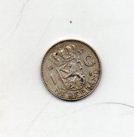 Pays Bas. 1 Gulden 1957. Argent - 1948-1980 : Juliana