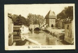 LUXEMBOURG  -  Pfaffenthal  Siechentor  Used Vintage Postcard - Luxemburg - Town