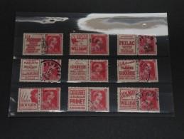 BELGIQUE - Plaquette De Timbres Publicité - A Bien étudier - P19456 - Werbung