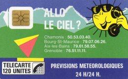 TELECARTE  ALLO LE CIEL 120 Unités  ( F 26 ) - France