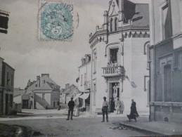 CPA 49 Maine Et Loire Vern Rue Principale - Frankrijk