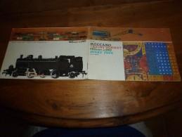 1960-1961 Catalogue MECCANO . TRAINS HORNBY . HOrnby-acHO . DINK TOYS 32 Ages Dont Coverture + 2 Annexes Dim. 21cm/14cm - Meccano
