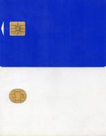 2 CARTES A PUCE A Identifier - Télécartes