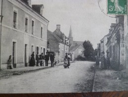 CPA 49 Maine Et Loire Chigné Route Du Lude - Frankrijk