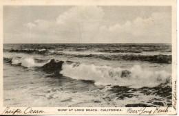 Etats Unis. Surf At Long Beach, California - Long Beach