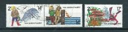1980 New Zealand Complete Set Health Used/gebruikt/oblitere - Nouvelle-Zélande