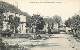 23 - Creuse - Saint Martial Le Mont - Rue Du Bourg - Other Municipalities