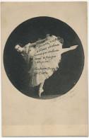 Christiane Dargyl Opera Dancer Faisant Des Pointes Tutu Pub Pour Dermoxa Maux De Pieds Photo Signée - Opera