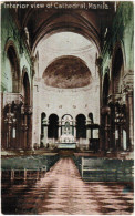 Manila, Philipines, Interior View Of Cathedral, P.I.  (pk30320) - Filippine