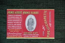 """Etui à Cigarettes , 10 Cigarettes , """" PRINCE ALBERT """", USA - Empty Cigarettes Boxes"""