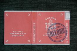 Boite D´ALLUMETTE - SULIMA - Cajas De Cerillas (fósforos)