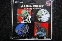 DLP - Star Wars - 4 Pin Set   Limited Edition 1200 Ex. - Disney