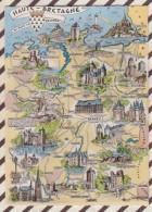 6AI2697 Carte Geographique BRETAGNE HAUTE BRETAGNE ARTAUD 2 SCANS - Maps