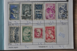 4 ++ BOOKLET WITH STAMPS ++ FRANCE ++ USED - Postzegels