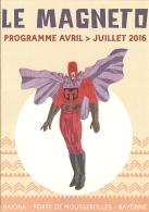 Programme - Le Magneto - Bayonne - Avril - Juillet 2016 - Programas