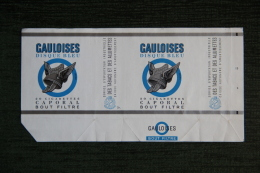 """Etui De Paquet De 20 Cigarettes """" GAULOISES CAPORAL - DISQUE BLEU """" - FRANCE - Etuis à Cigarettes Vides"""