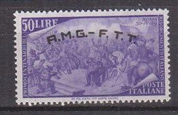 PGL CW466 - TRIESTE AMG-FTT SASSONE N°28 * - 7. Trieste