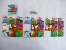 KINDER : K 98 Puzzle Arche De Noé Complet Plus 16 Pièces Détails Sur Les Scans - Puzzles