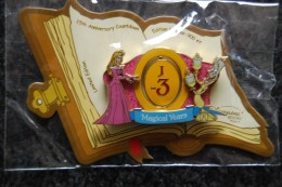 DLRP - Countdown To 15th Anniversary J-3 (Aurora And Lumiere) Spinner   Limited Edition 900 Ex. - Disney