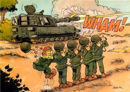 Carte Postale Moderne Couleur Humoristique Militaire - Illustrateur Jean-Pol - Wham ! Tank - 22.010/52 - Illustratoren & Fotografen