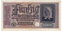 Germany  #R140 1940-45 50 Reichsmark Banknote Currency - [ 4] 1933-1945: Derde Rijk