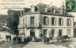 63  LA BOURBOULE HOTEL RESTAURANT RAYNOIRD ROUTE DE SAINT SAUVE - La Bourboule