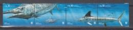Portugal Acores 2004,4V In Strip,set,WWF,fish,vissen,fische,poissons,peche,peces,pesce,,MNH/Postfris(A2556) - Fishes