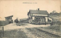 28 - EURE Et LOIR - Chaudon - Gare - Chemin De Fer - Train - Francia